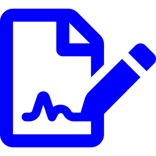 icon-bild-digitale-unterschrift-mit-bridge-videoberatung-software-versicherung